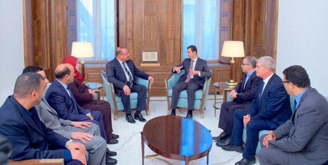 alt-assad-meeting-damascus-tunisia-delegation