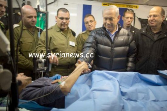 Israel and ISIS relationship flaunted when Netanyahu entered Golan to meet and greet terrorists who received free trauma care.