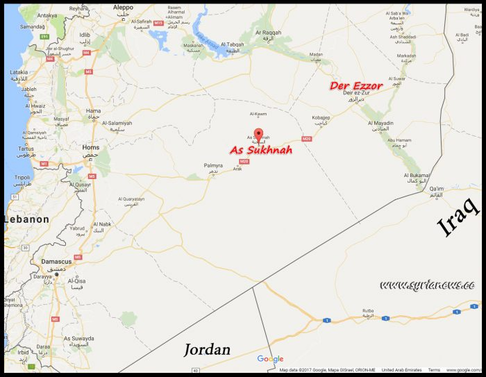 image-As-Sukhnah Homs Countryside North Palmyra South Der Ezzor