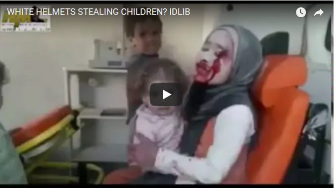 UNSC NATO mob oversees kidnapping of children in Idlib
