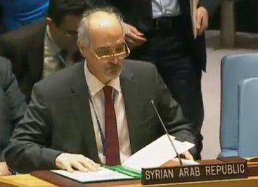 image- Dr. Bashar Jaafari Syrian Ambassador to United Nations