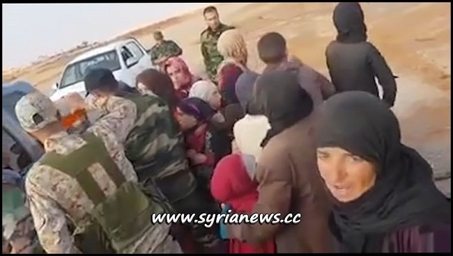SAA Frees 19 Sweida Women and Children from ISIS and US Captivity