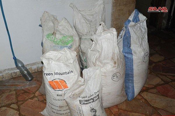 Syrian Authorities Confiscate Massive Quantity of Captagon Drug Pills - SANA Release 1