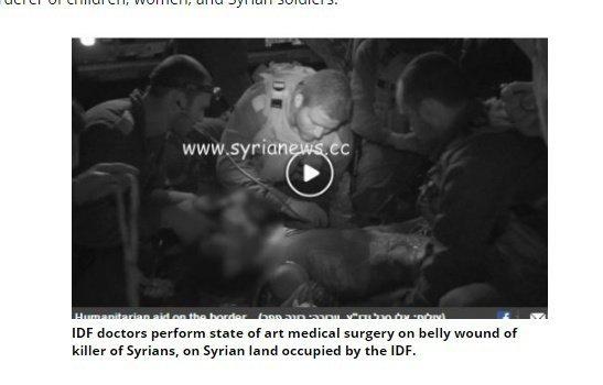 Israel experts perform free state of art trauma surgery on ISIS terrorist.
