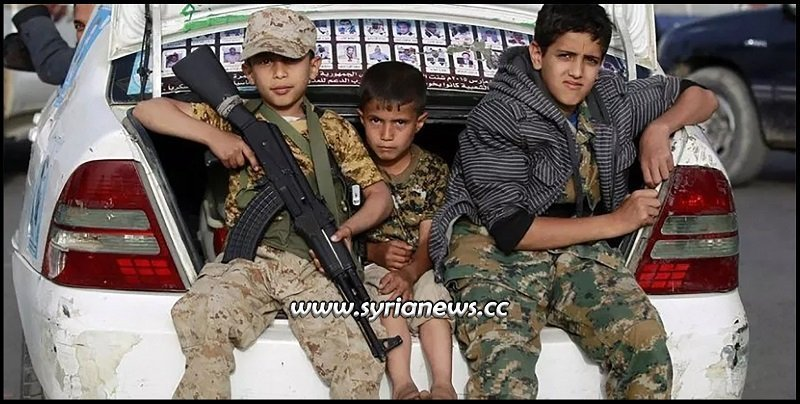 Syria SDF YPG Asayish Recruiting Child Soldiers Kurds