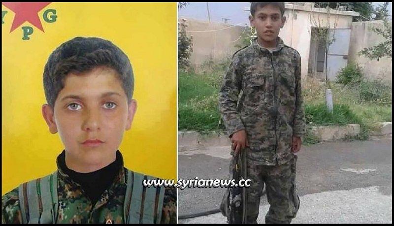 Kurdish SDF terrorists recruit children soldiers