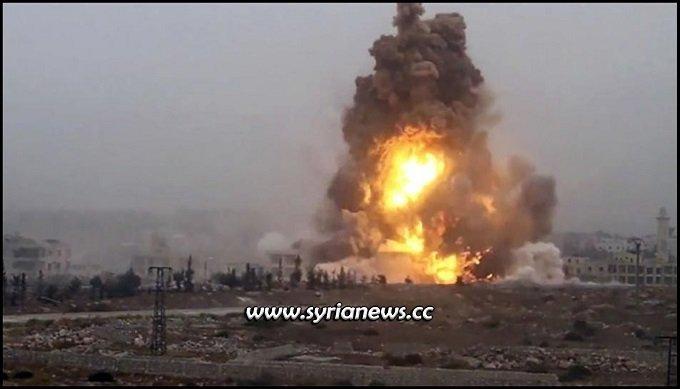 Landmine explosion kills civilians in Syria - انفجار لغم أرضي يقتل مدنيين في سورية