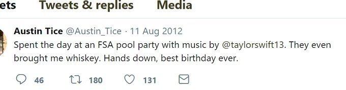 Austin Tice final tweet suggests he got roofied