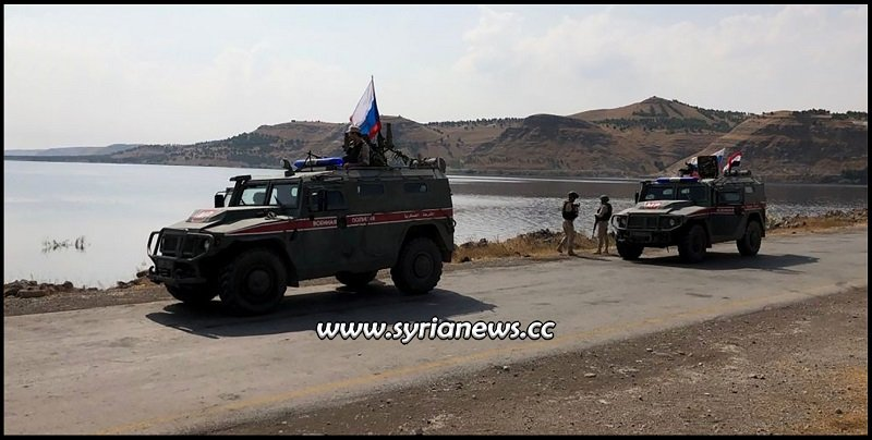Russian Military Police with Syrian Border Guards Deploying Northeast of Syria