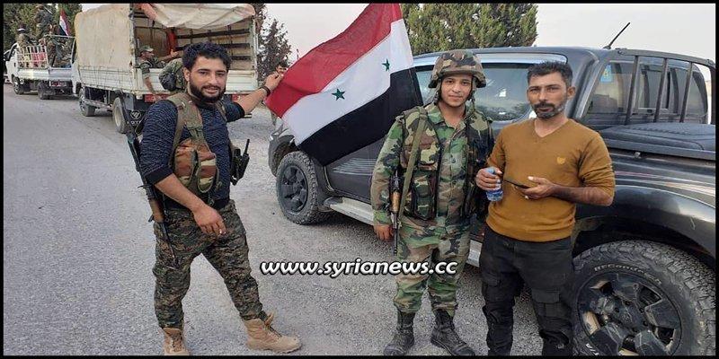 SAA Syrian Arab Army in control of Manbij - Aleppo Eastern Countryside