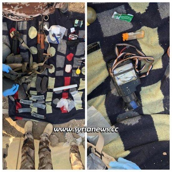 Iraqi security foil a terrorist attack