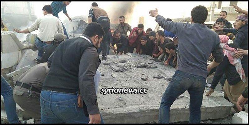 NATO terrorists bomb residential neighborhoods in aleppo killing dozens of civilians