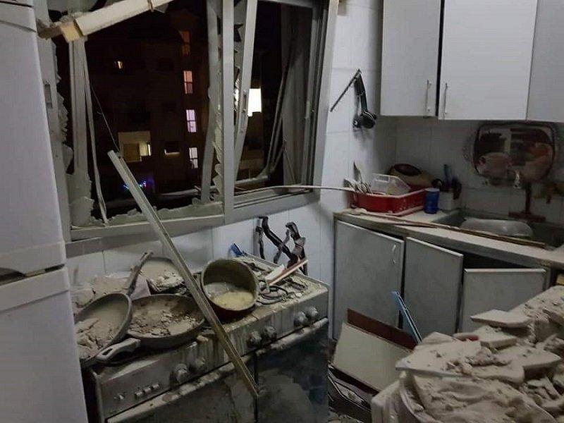 beit saber damascus countryside israel missile strike house killing civilians