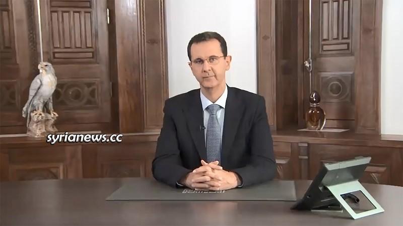 President Bashar Al Assad Speech on Securing Aleppo