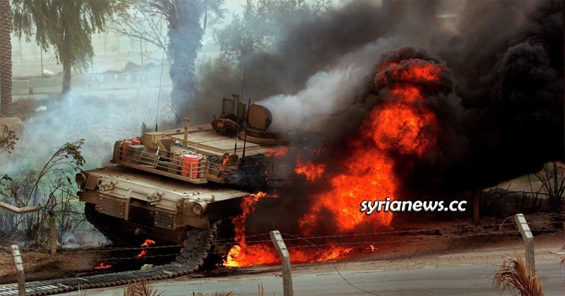 Turkish Army tank in Syria