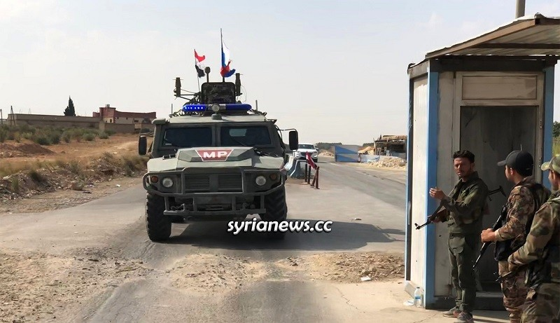 Russian Military Police in Syria - Archive