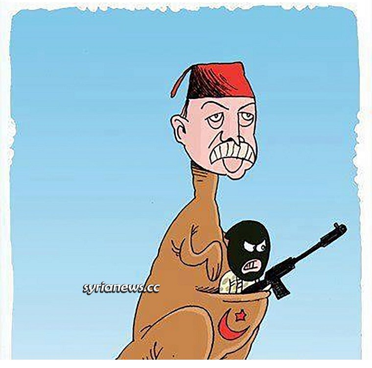 The bond between Erdogan and al-Qaeda and Muslim Brotherhood terrorists is like a Mother Kangaroo and her children