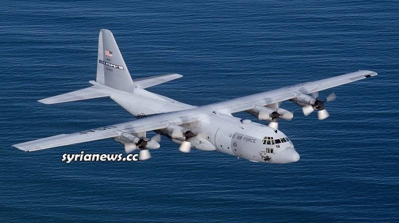US C130 plane Damaged while landing at Military Base in Iraq