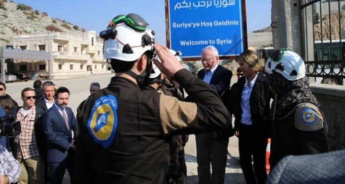 UN's Lowcock joined US' Kelley Craft and James Jeffrey to meet with terrorist White Helmets