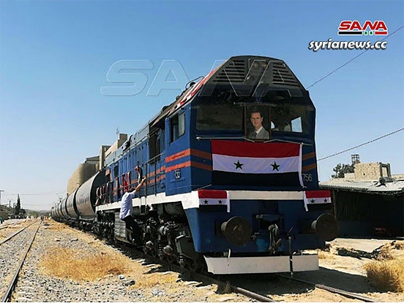 Syria Ralway: Tartous - Damascus first train trip since 9 years