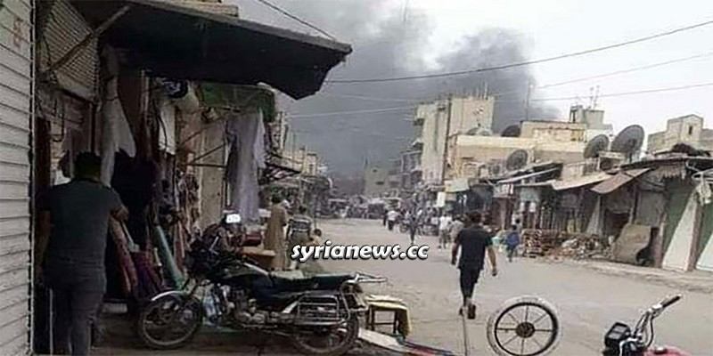 Booby-trapped motorcycle explosion in Ras Al Ayn - Hasakah - Syria