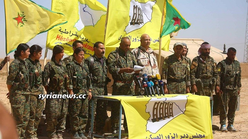 Kurdish SDF Militia Syria