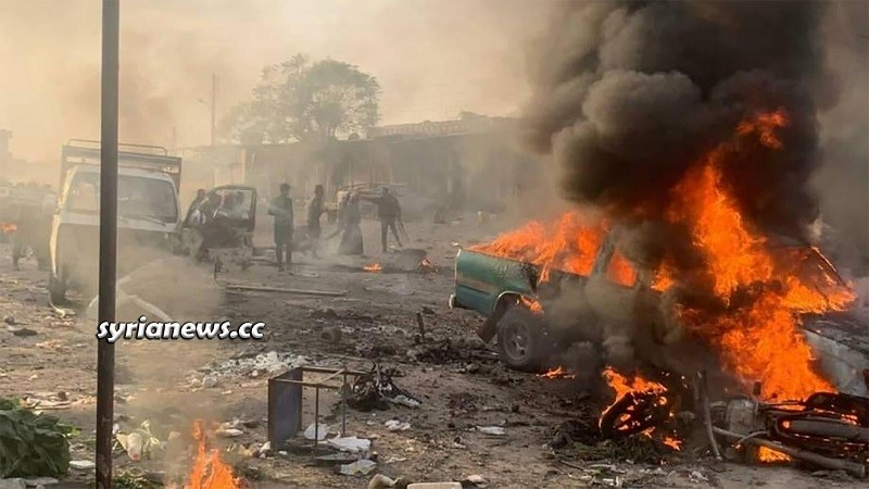 Terror attack Tal Halaf Ras Al Ayn - Hasakah Syria
