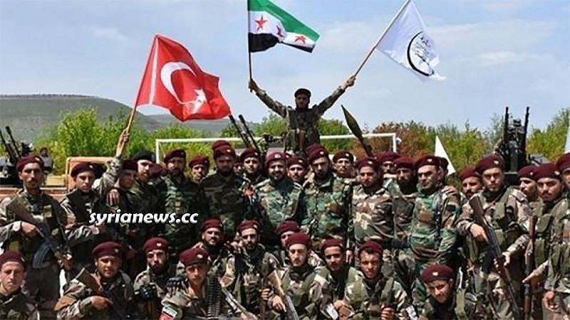 Al Hamzat - One of Erdogan's terrorist groups for hire established in Northern Syria