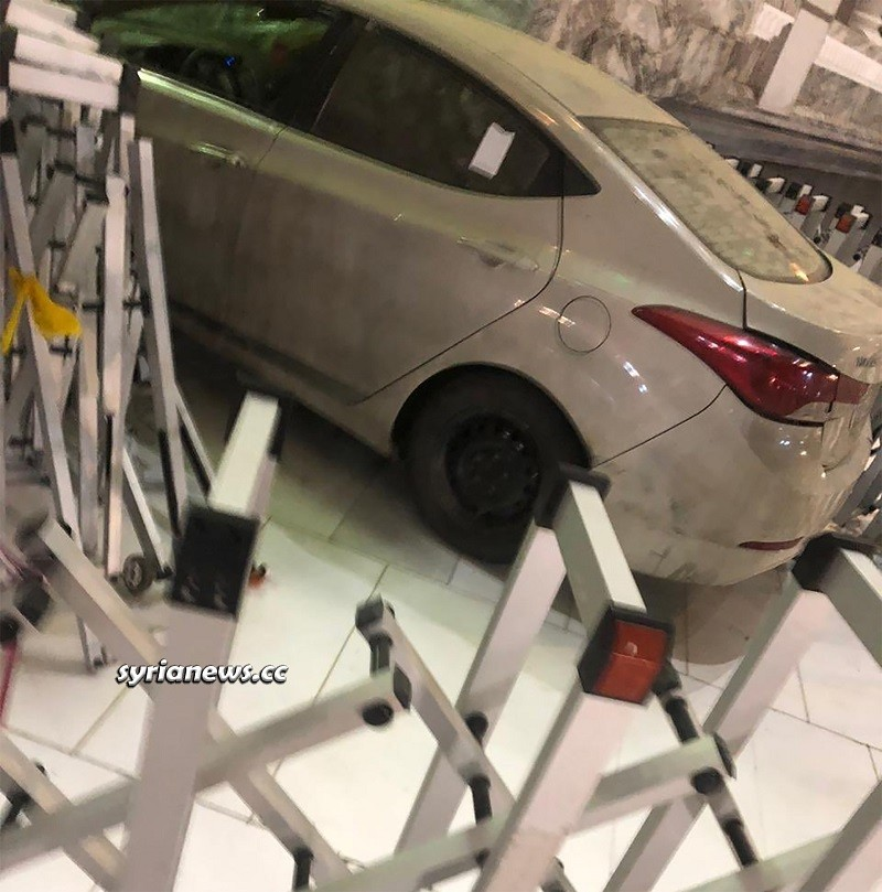 Car rammed into Gate 89 of Masjid Haram - Mecca