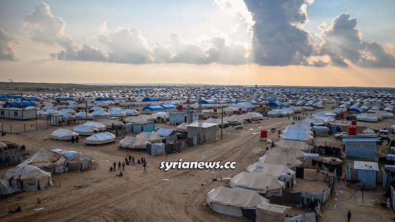 Al Hol (Hawl) Concentration Camp run by Kurdish SDF in Hasakah