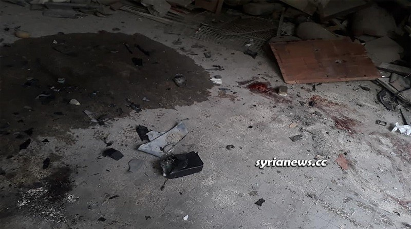 Car bomb explosion in Harasta- Damascus countryside