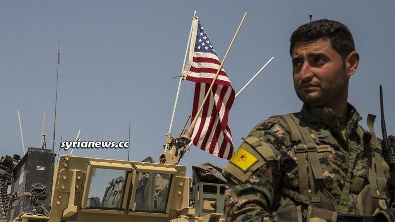 US sponsored Kurdish SDF separatist militia in northern Syria