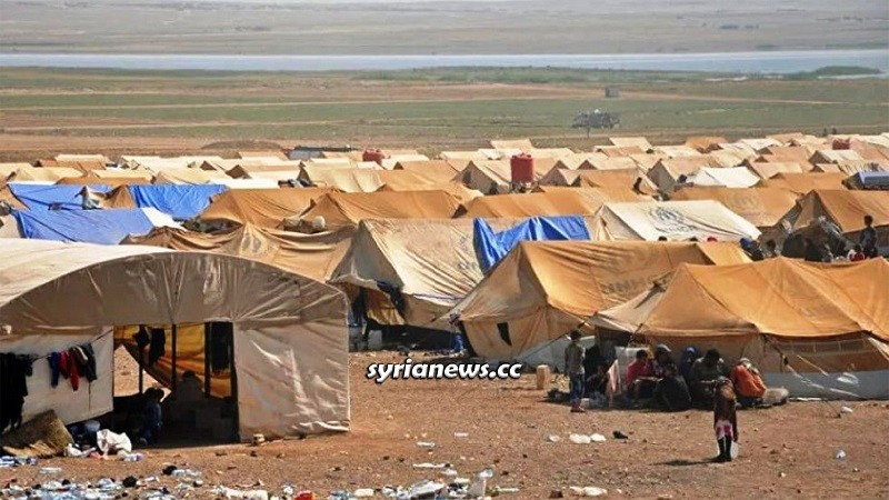 Rukban Concentration Camp for Syrian refugees - US Army
