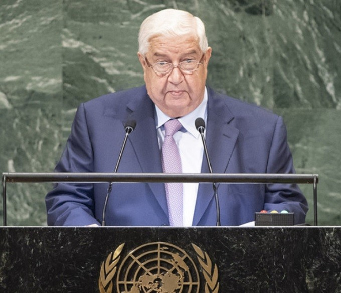 walid al muallem united nations general assembly