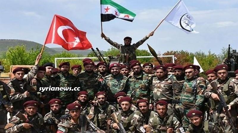 Hamzat terrorist group north Syria - Erdogan Muslim Brotherhood Army - فرقة الحمزات الإرهابية