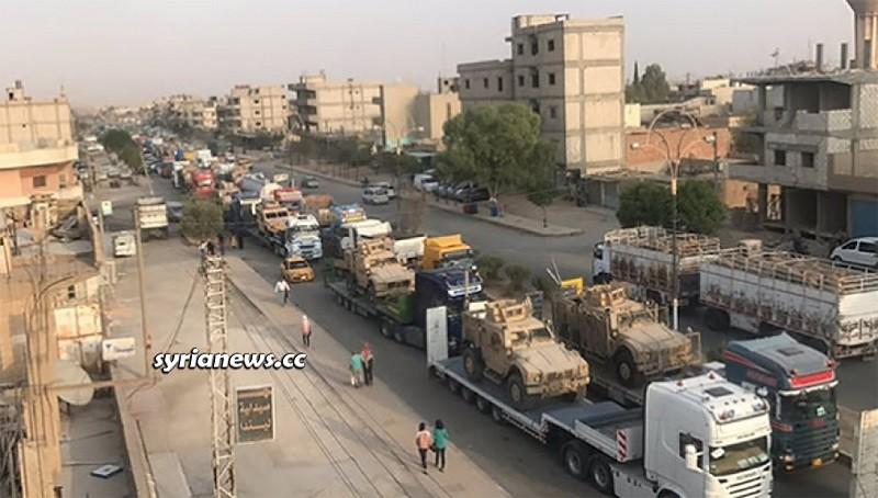 Biden oil thieves moving between Syria and Iraq / Kurdistan - SDF - Archive