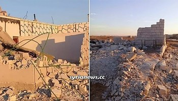 Kurdish SDF armed group Israelize houses in Raqqa