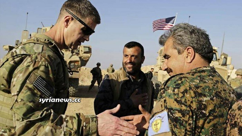Kurdish SDF armed groups north Syria - US Army
