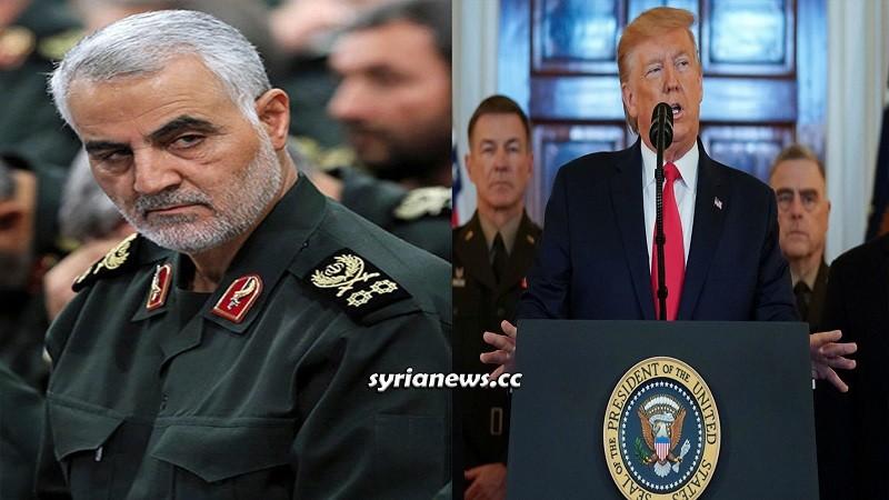 Trump war crime killing Iran IRGC Qasem Soleimani and Abu Mahdi Mohandis in Iraq
