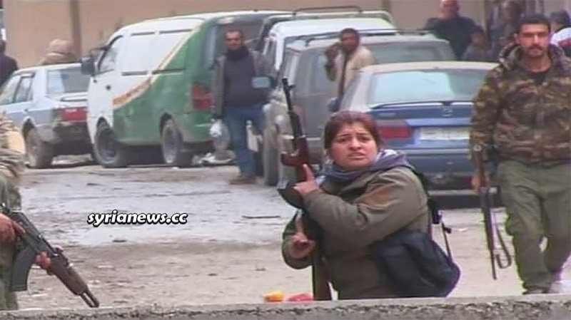 Kurdish SDF terrorists besieging Hasakah and Qamishli