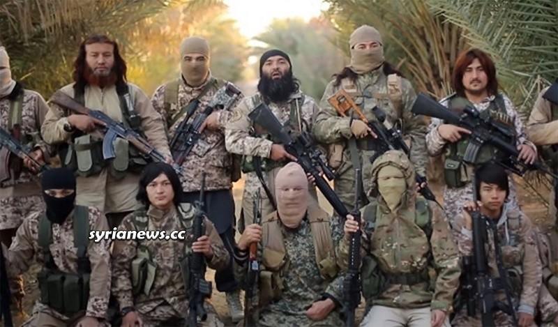 Turkestan Islamist Party terrorist group - Syria - الحزب الاسلامي التركستاني
