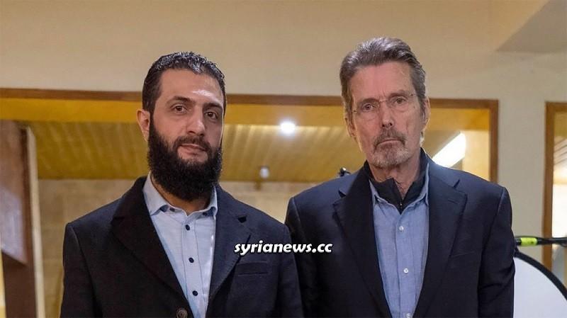 US reporter meets Al Qaeda leader in northern Syria