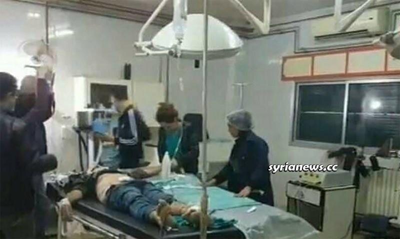 Salamiyah Hama landmines explosion Syria