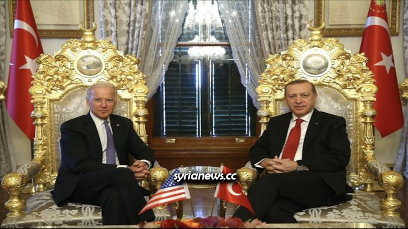 US Vice President Biden with Turkish Madman Erdogan April 2016