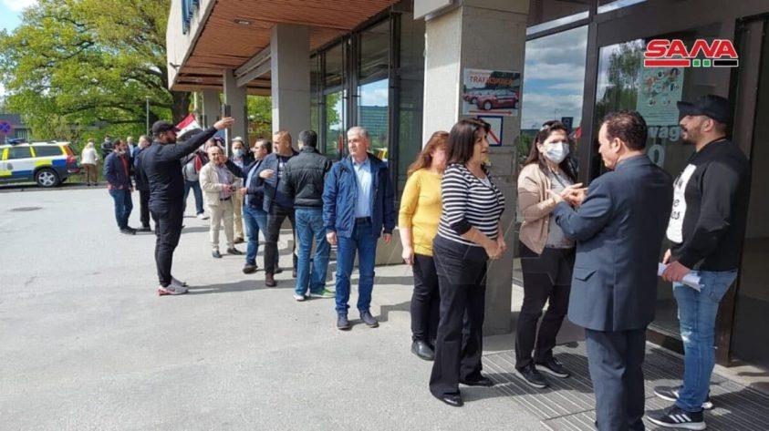 Sweden - Syrian Presidential Election