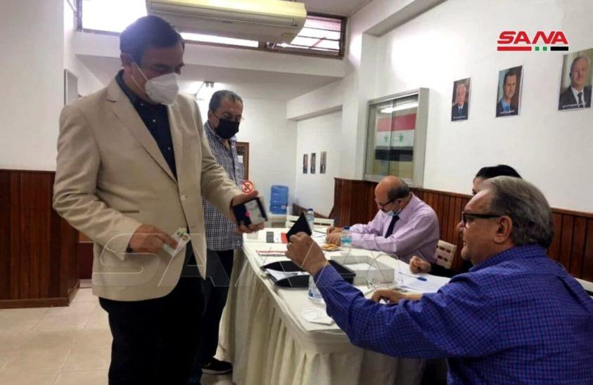 Venezuela - Syrian Presidential Election
