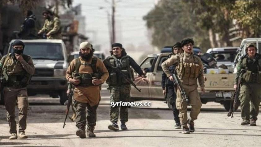 Al Qaeda HTS Hayat Tahrir Sham Nusra Front Jabhat Nusra terroristsin Idlib, Syria - NATO Turkey
