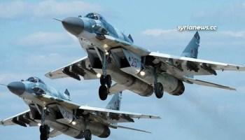 Russian air force in Syria - Idlib Tartous Latakia Hama
