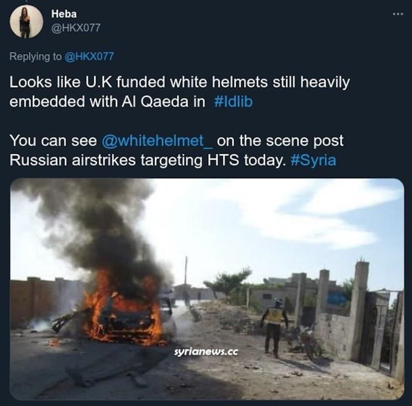 UK-funded White Helmets always with Nusra Front -Al Qaeda Levant