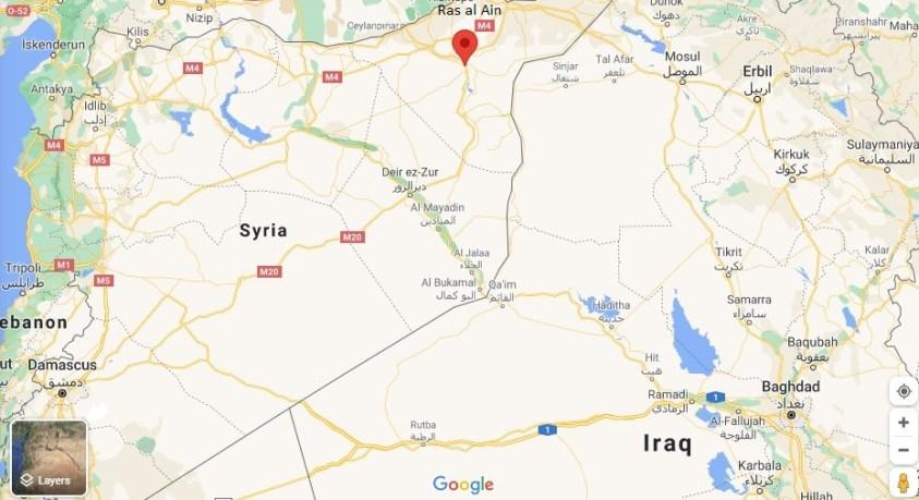 Ras al Ayn's Allouk water plant  is in the al Hasakah governate of Syria.